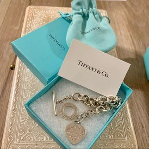 Tiffany & Co. - Heart Tag Toggle Bracelet